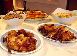Tipico island style dinner