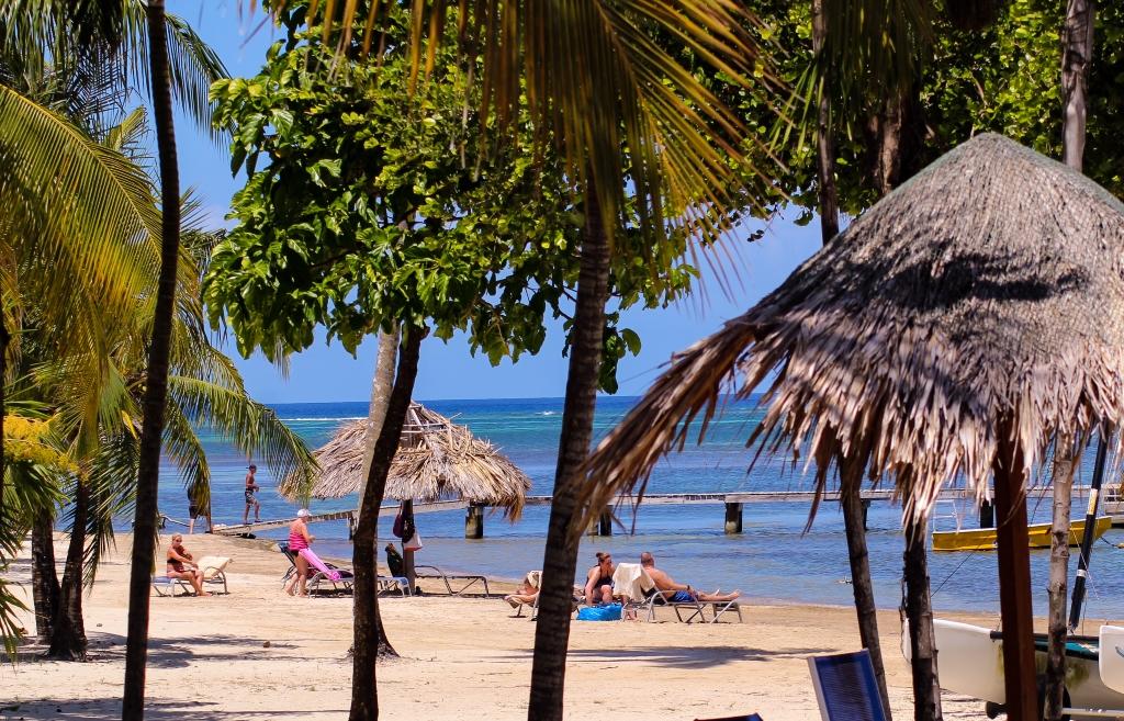 Huge private beach