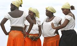 Garifuna Dancers