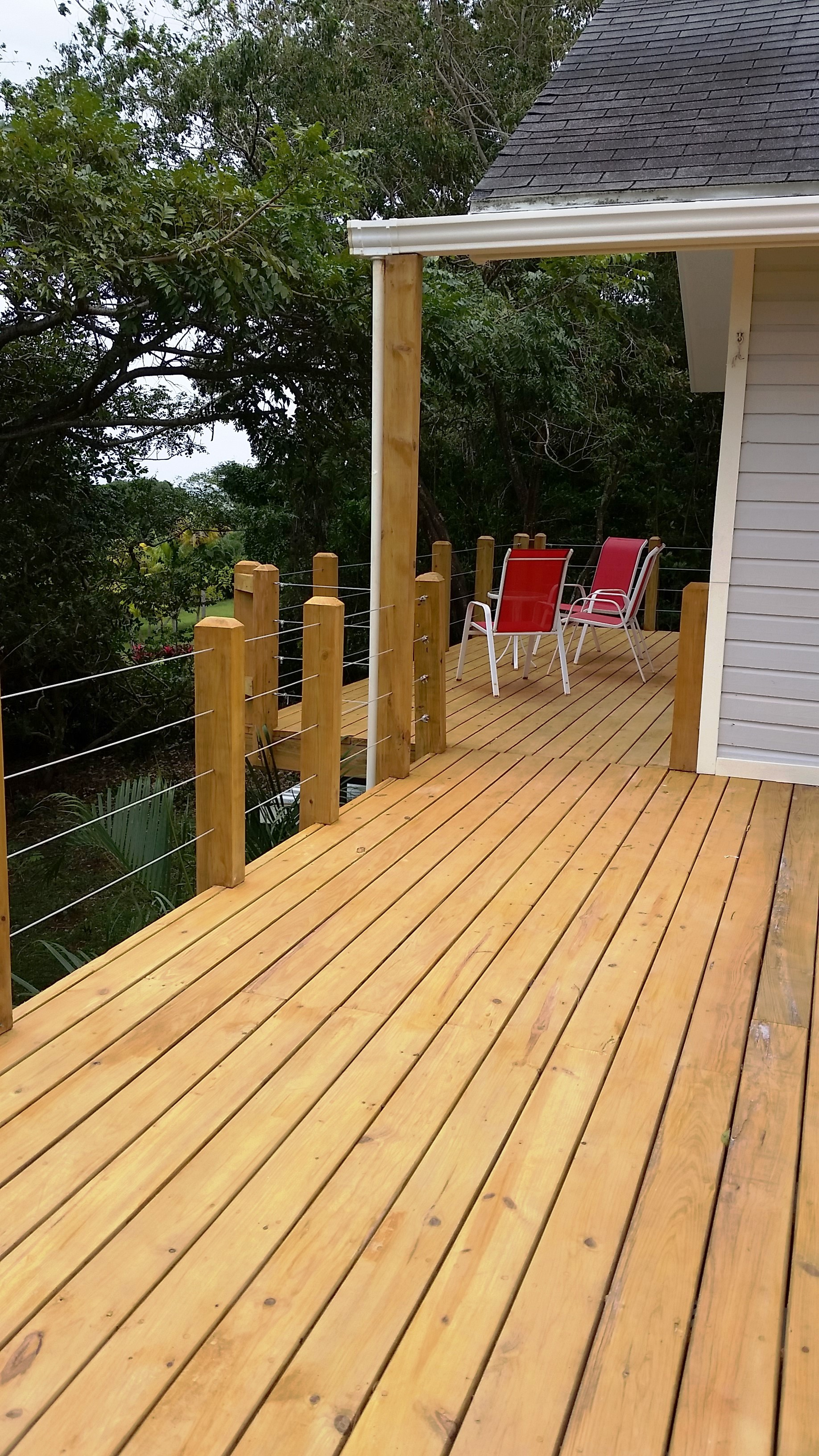 deck off master suite