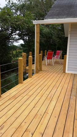 deck off master suite