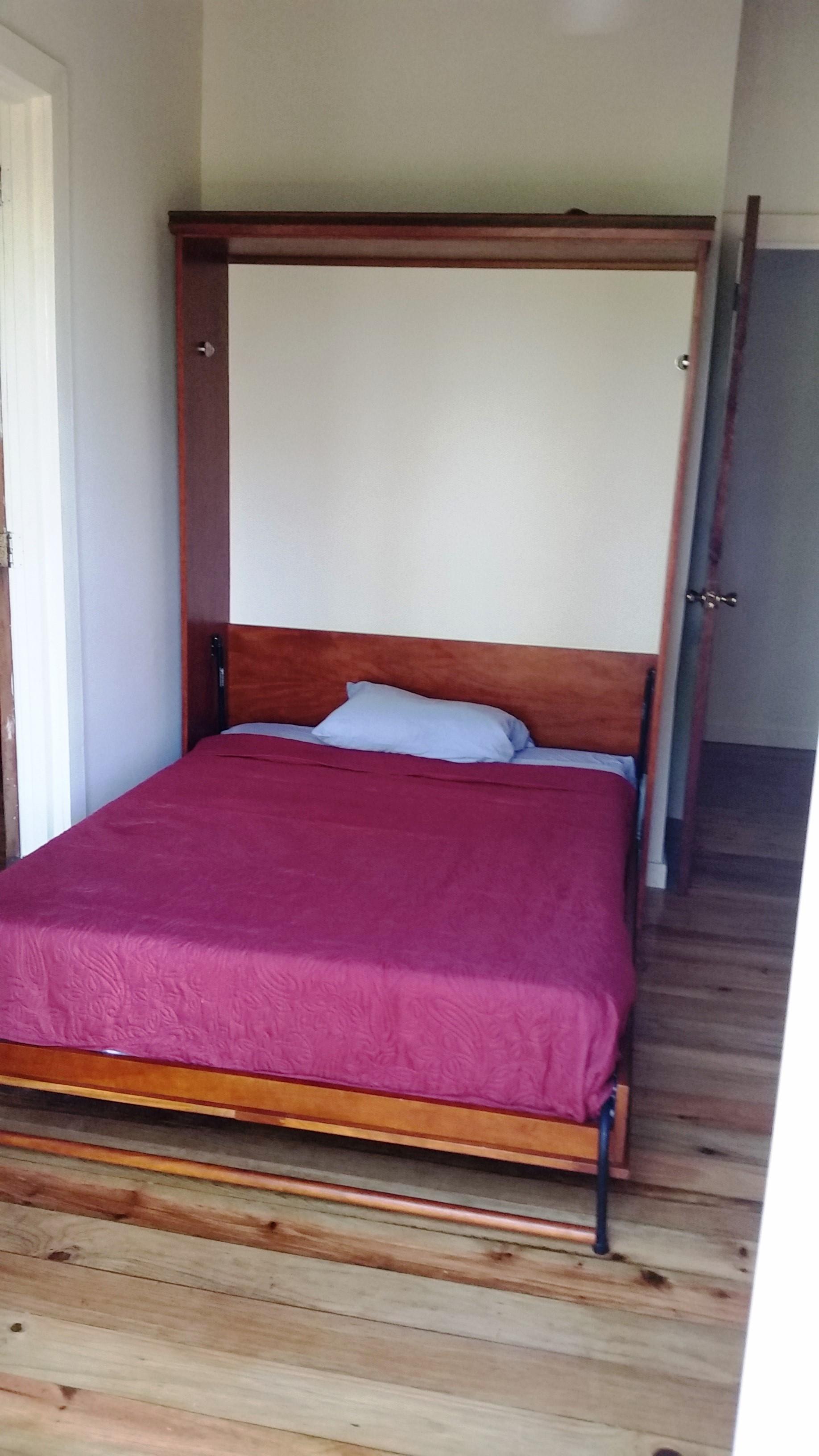 Murphy bed open