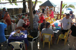 Dive group lunch