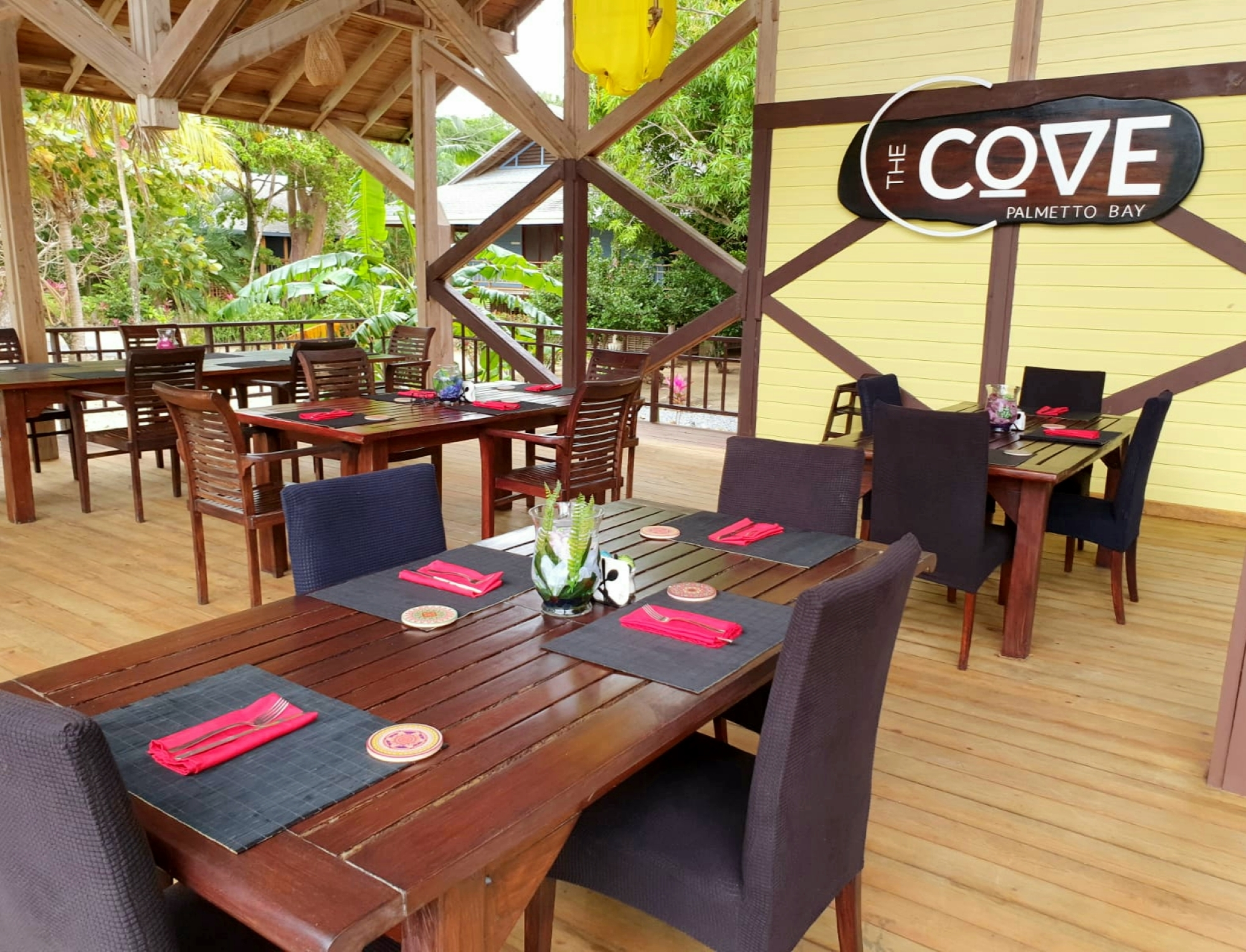The Cove signature restaurant