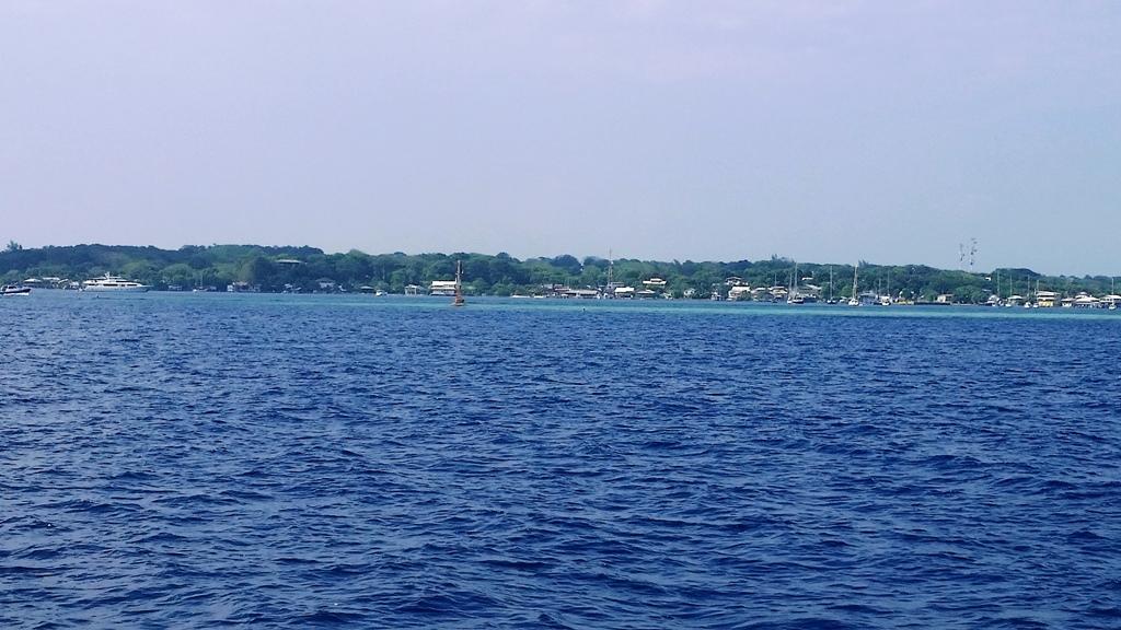 Utila bay island