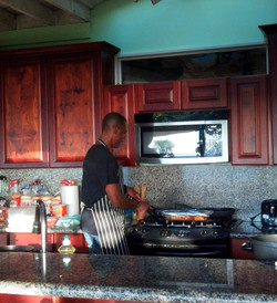 Outdoor Kitchen Cookin'
