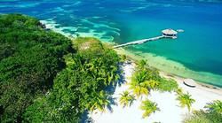 palmetto beach arial view