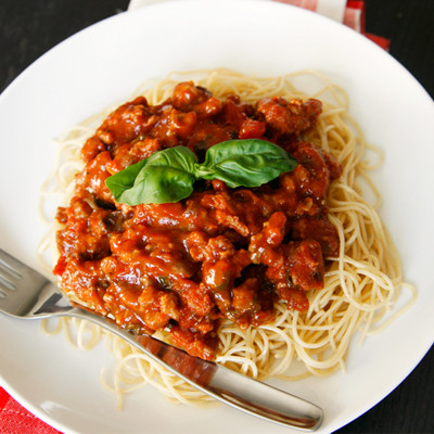 sausage bolognese