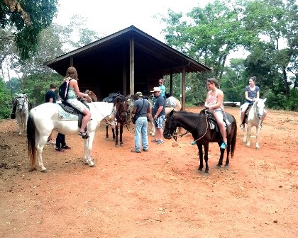 Add on horseback riding