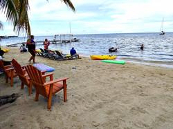 Beach break fun