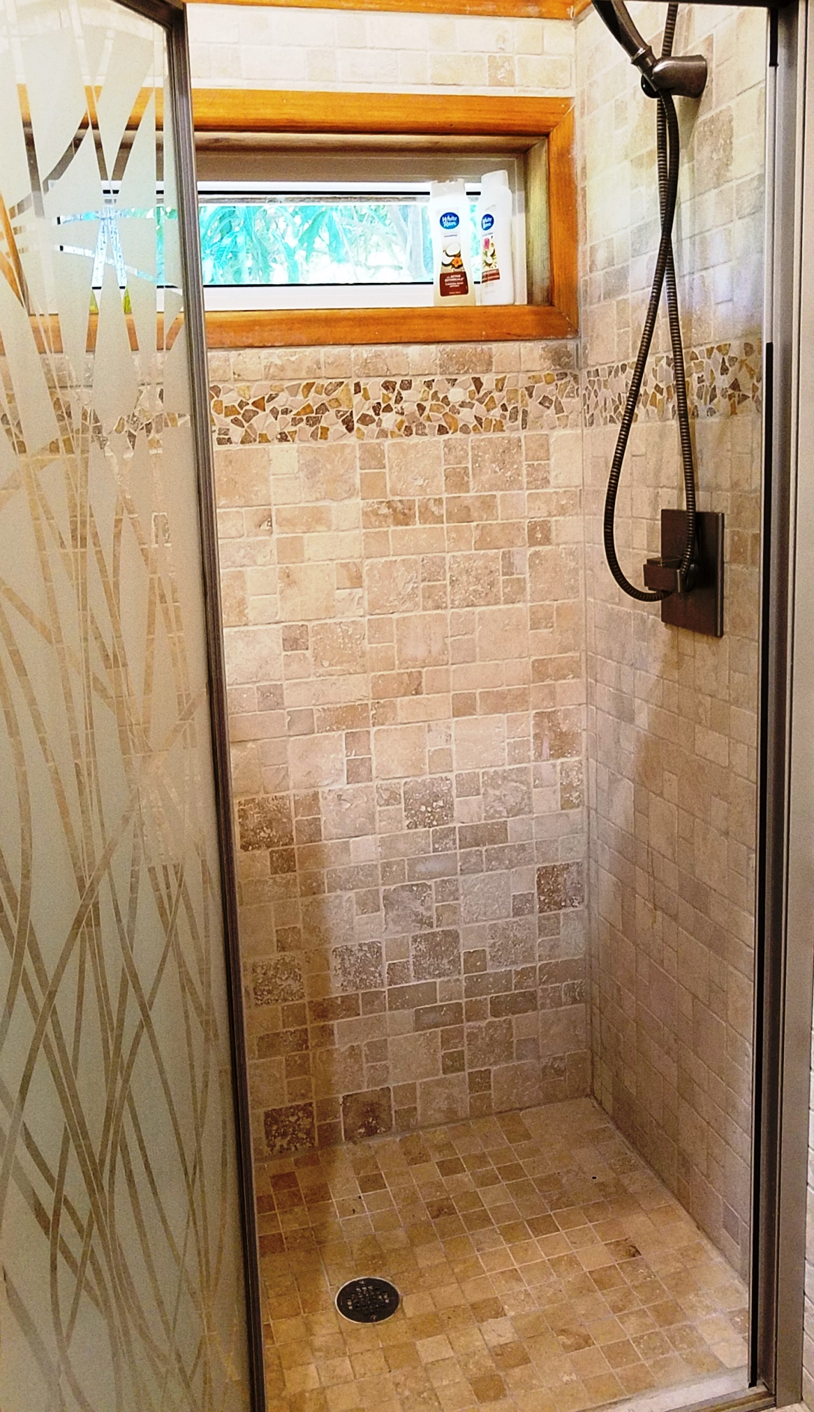 Guest house shower