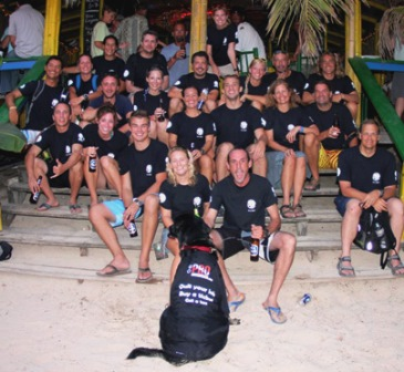 The Dive Master Crew