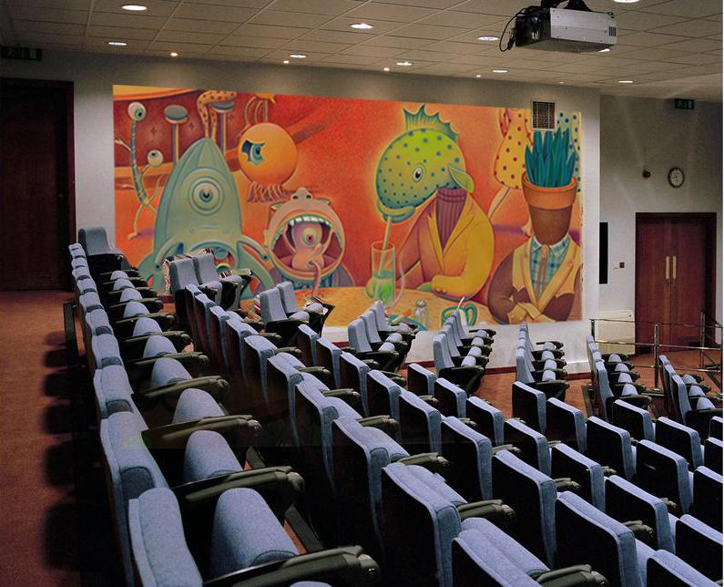"""""""Monsters""""mural"""