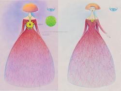 Vein Gown