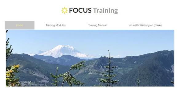 FOCUS mHealth Training Website