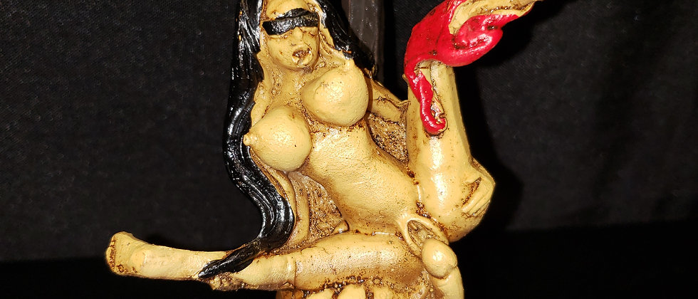 Peruvian Blindfolded Lady Pipe