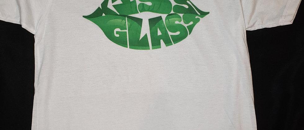 Kiss Glass Tshirt (White)