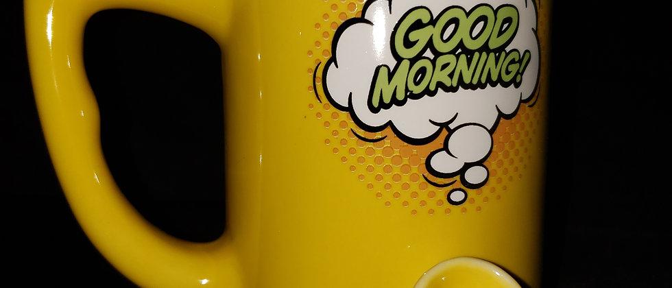 Good Morning smoking mug