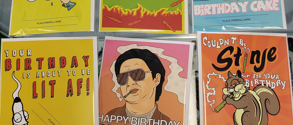Birthday Cards For Pre Rolls