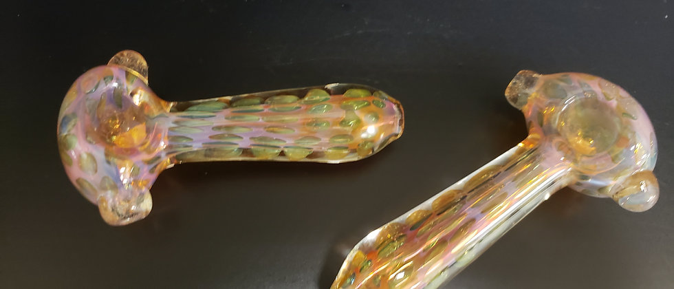 "4.5"" Beautifully Fumed Hand Pipe"