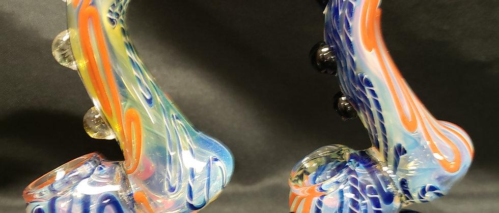 """6"""" Fumed Sherlock Bubbler"""
