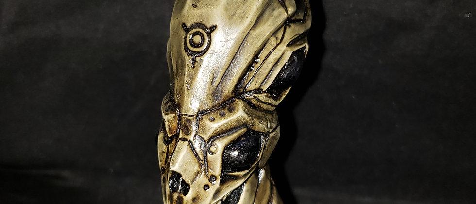 """6"""" Alien Skull Peruvian Pipe"""