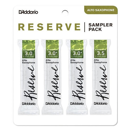 Anches D'Addario Reserve Saxophone Alto - Sampler Pack