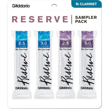 Anches D'Addario Reserve Clarinette Sib - Sampler Pack