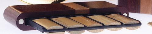 Etui bois Bambú pour anches de clarinette