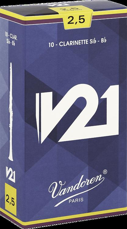 Anches Vandoren V21 Clarinette Sib