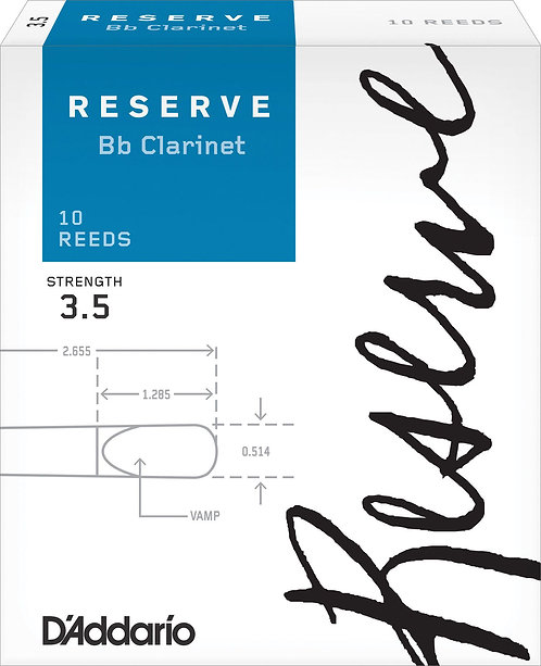 Anches D'Addario Reserve Clarinette Sib