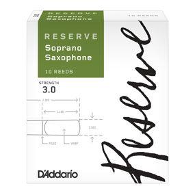 Anches D'Addario Reserve Saxophone Soprano