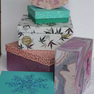 Boxes Different Designs and Sizes