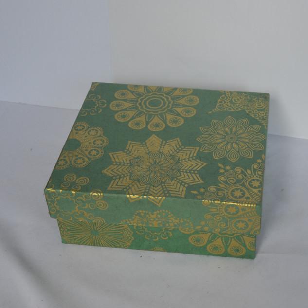 Box X-Mas Design Green