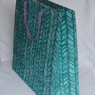 Bag Stitch Desing Blue Medium