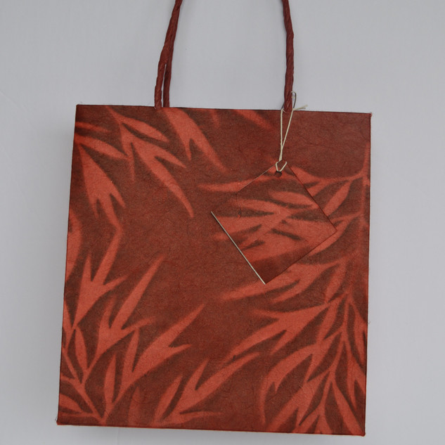 Bag Natural Red Small