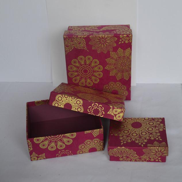 Box X-mas Design Red