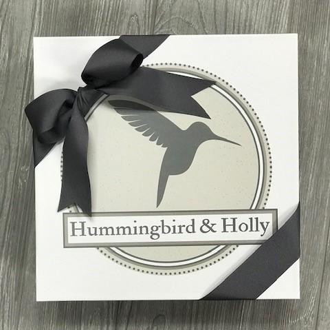 Hummingbird and Holly Gift