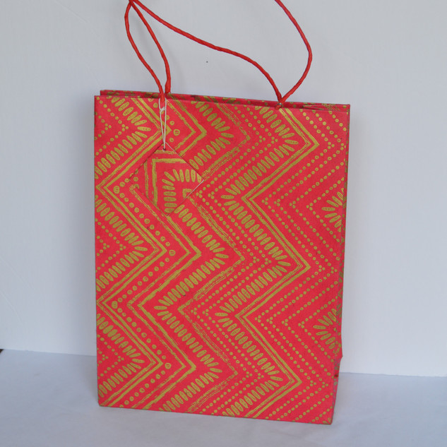 Bag Zig Zag Red