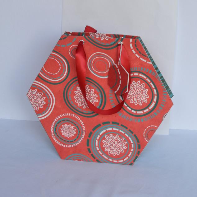 Bag Special Hexagon Red