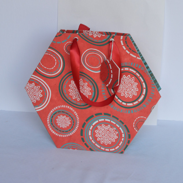 Bag Special Hexagon Red