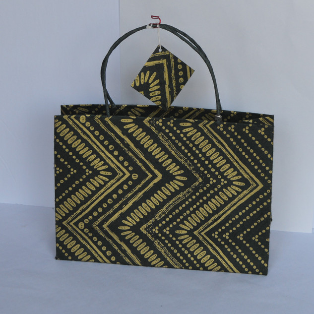 Bag Zig Zag Green Small