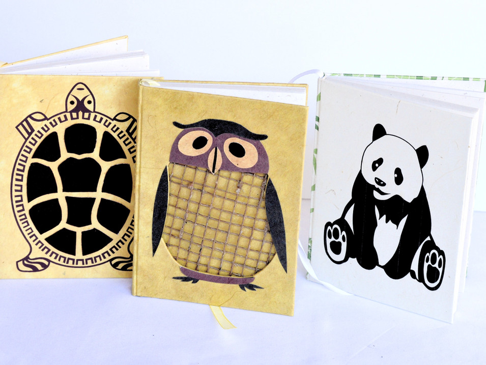 Notebook Medium Panda Owl Turtle_edited_