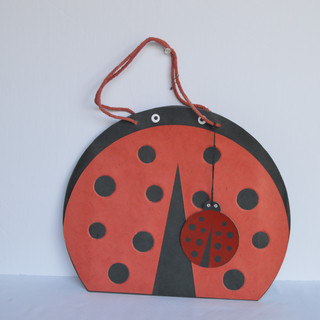Bag Lady Bird Red Small