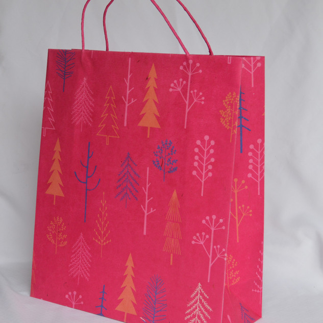 Bag Pink Tree Medium