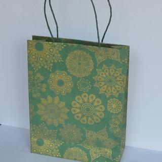Bag X-Mas Green