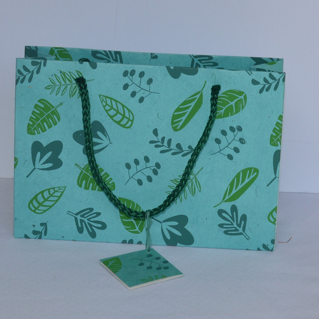 Bag- Leaf Screen Print