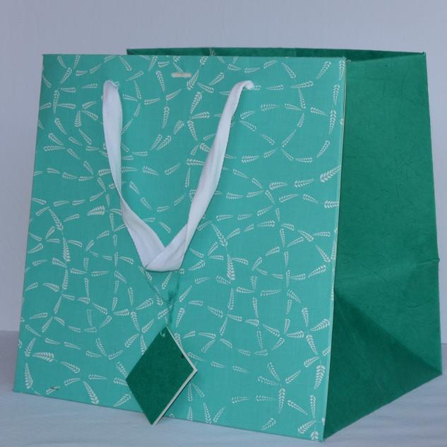 Bag - Blue Fabric