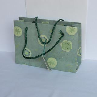 Bag Aqua Floral Small