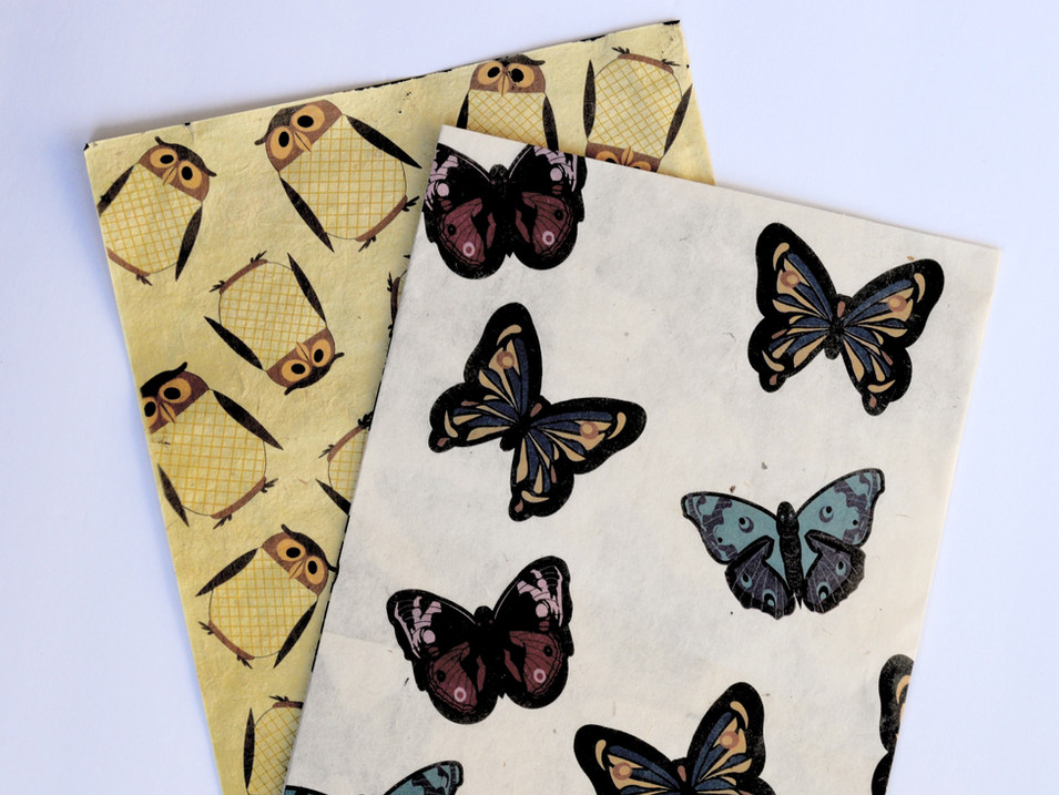 Wrapping Paper Owl and Butterfly_edited.